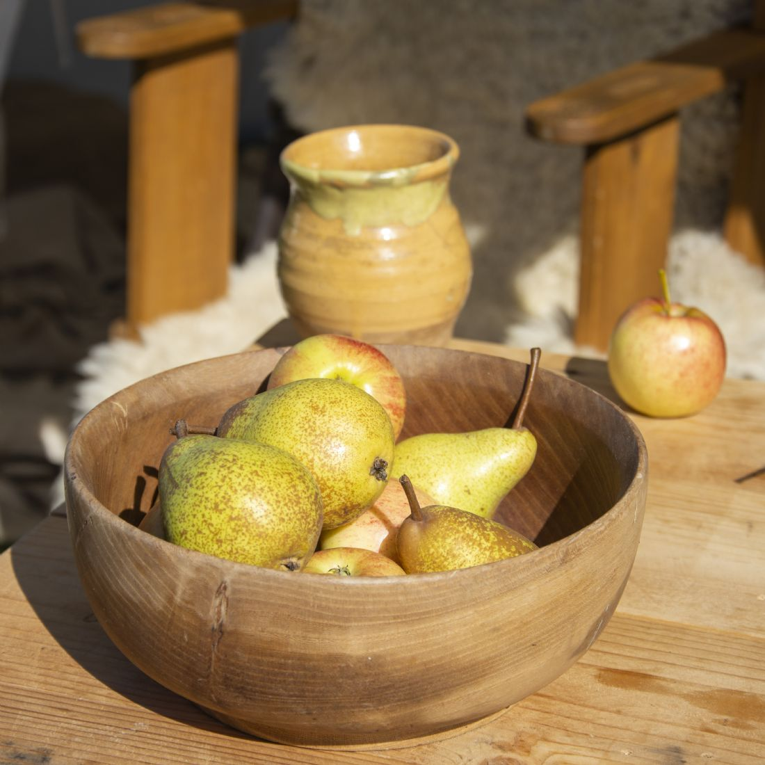 Steve Stamford | A bowl of pears