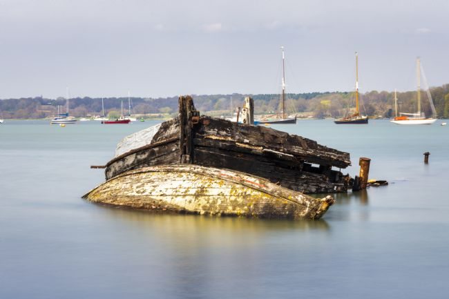 Steve Stamford | Pin Mill wrecks long exposure 5