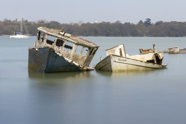 Steve Stamford | Pin Mill wrecks long exposure 4