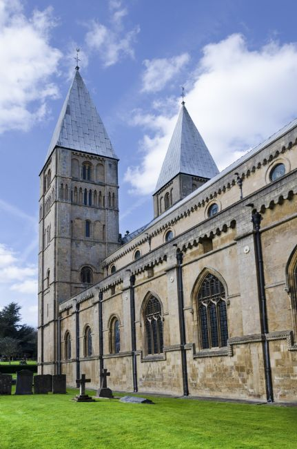 Steve Stamford | South face of Southwell Minster