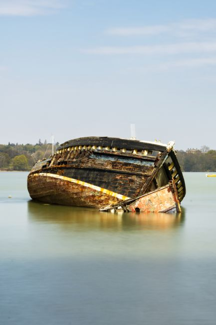Steve Stamford | Pin Mill wrecks long exposure 2