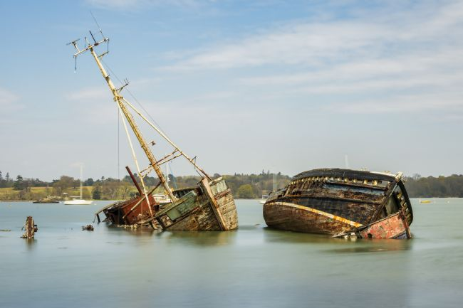 Steve Stamford | Pin Mill wrecks long exposure 1