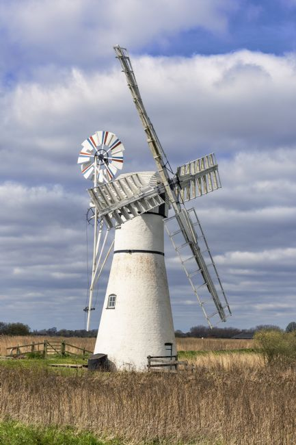 Steve Stamford | Thurne wind pump 1
