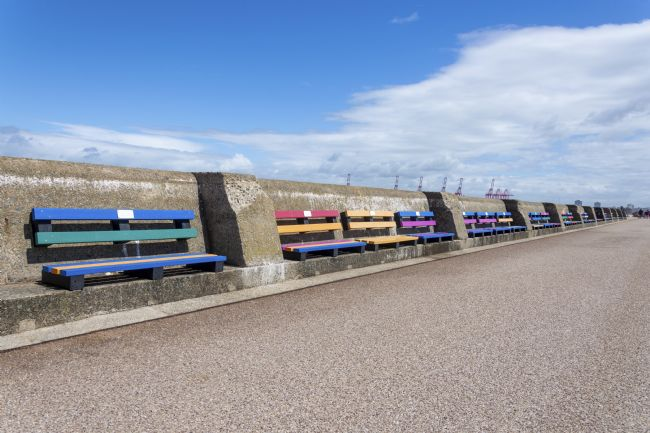 Steve Stamford | New Brighton benches 1