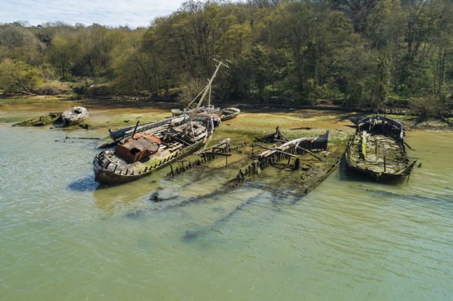 Steve Stamford | Pin mill wrecks arial 3