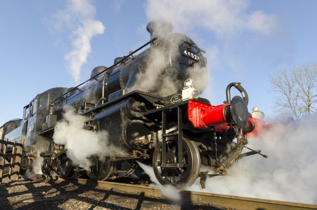 Steve Stamford | Steam locomotive 46521