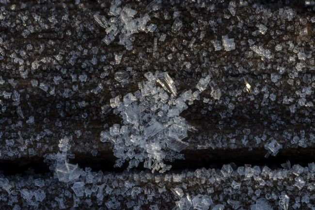 Steve Stamford | Ice crystals