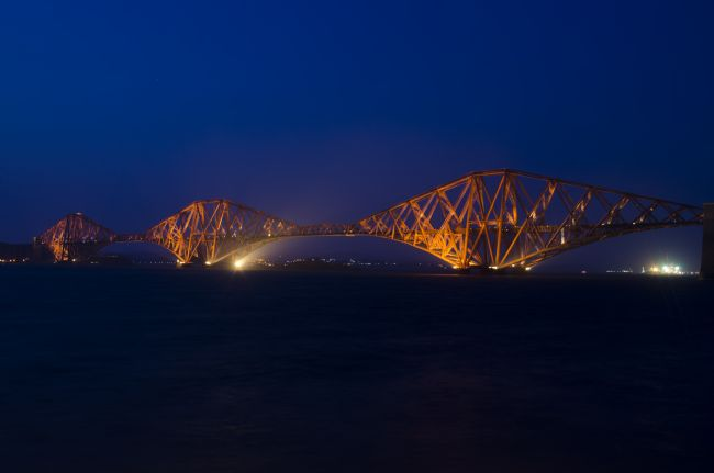 Steve Stamford | Forth rail bridge at night 1
