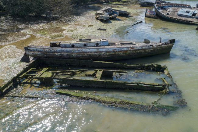 Steve Stamford | Pin mill wrecks arial 1
