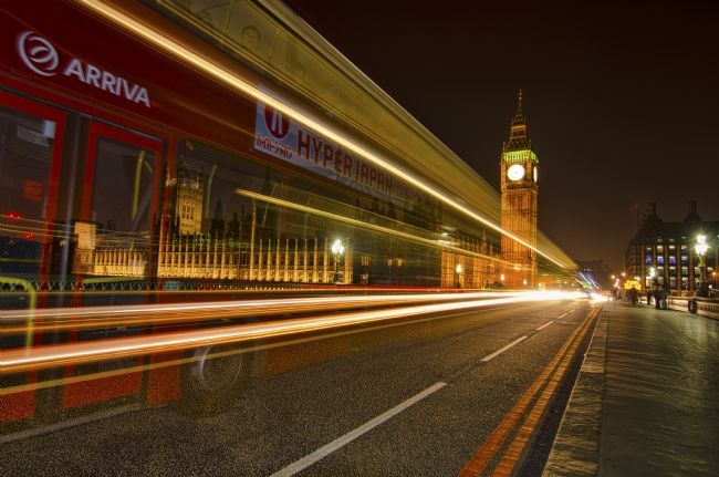 Steve Stamford | Westminster bridge bus