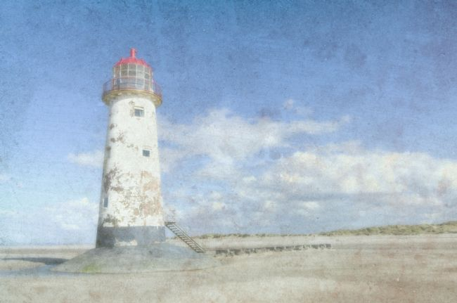 Steve Stamford | Talacre lighthouse textured