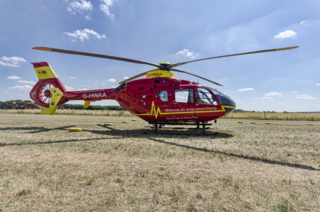 Steve Stamford | Air ambulance G-WHAA 1