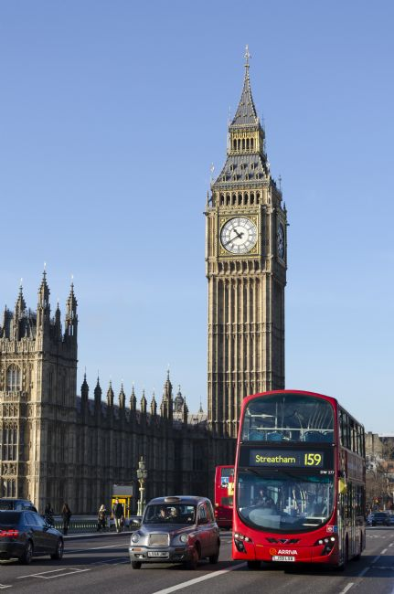 Steve Stamford | Big Ben and the bus