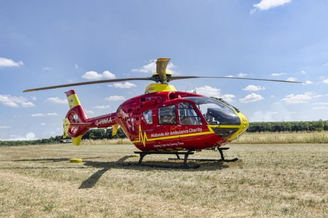 Steve Stamford | Air ambulance G-WHAA 2