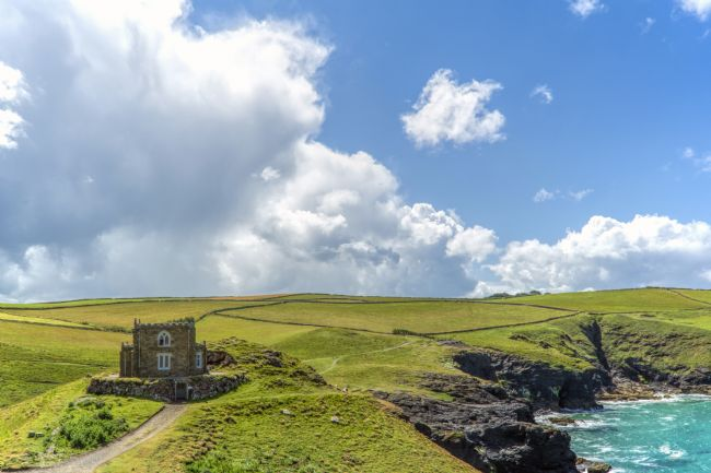Mary Fletcher | Doyden Castle on Port Quin headland
