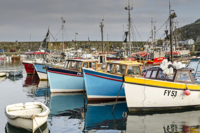 Mary Fletcher | Fishing Boats in Mevagissey