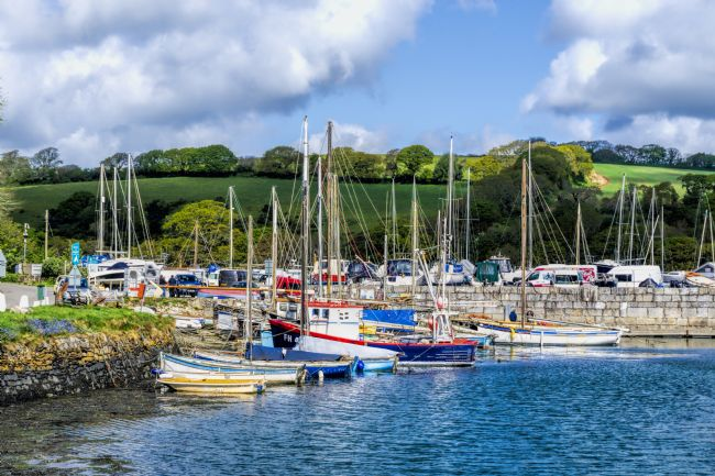 Mary Fletcher | Fishing boats in Mylor Yacht Harbour