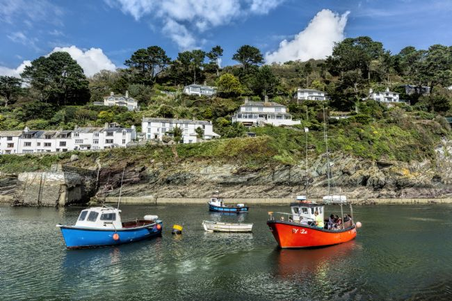 Mary Fletcher | Polperro Harbour Entrance