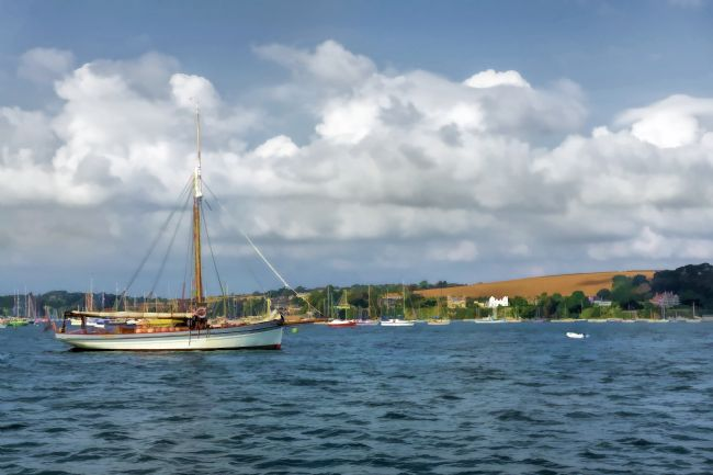 Mary Fletcher | Marguerite in Falmouth Harbour