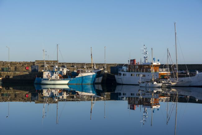 Mary Fletcher | Penzance Harbour Reflections