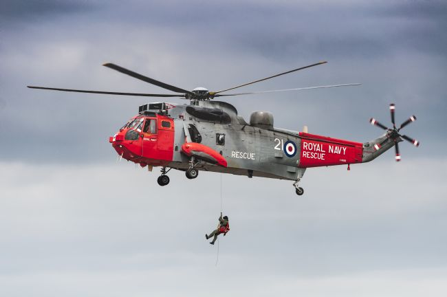 Mary Fletcher | Royal Navy Rescue Helicopter