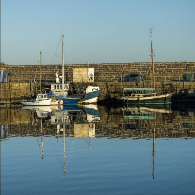 Mary Fletcher | Harbour Reflections, Penzance