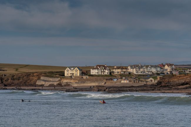 Mary Fletcher | Surfers in Bude