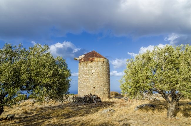 Mary Fletcher | Old Mill in Cyprus