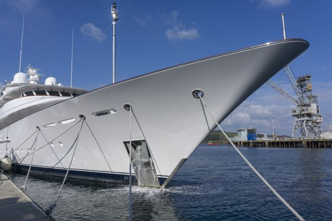 Mary Fletcher | Superyacht Bow