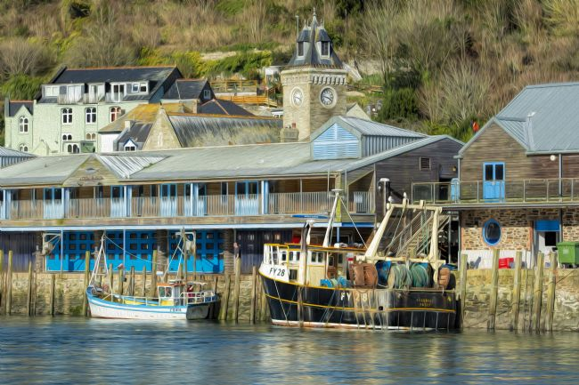 Mary Fletcher | Fishing Boats at Looe