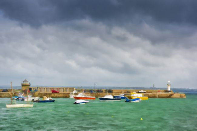 Mary Fletcher | St Ives Harbour Entrance