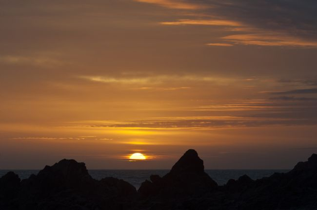Mary Fletcher | Sunset over Kynance Cove
