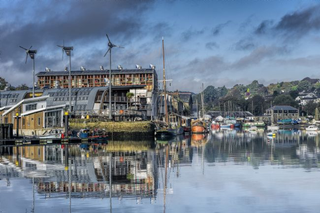 Mary Fletcher | Penryn Reflections, Jubilee Wharf