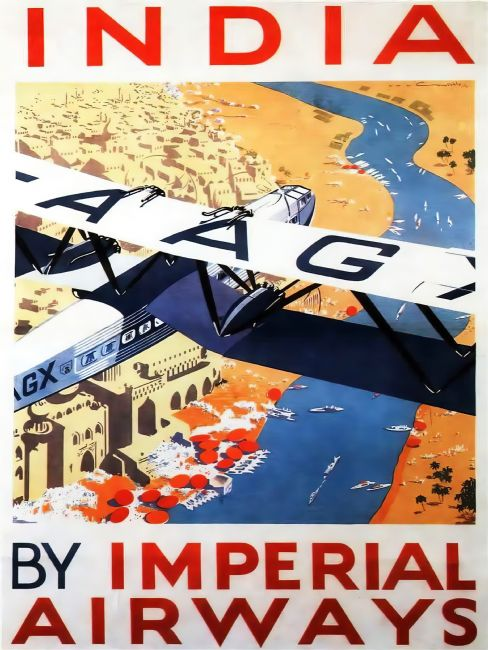 Chris Langley | Imperial Airways to India on G-AAWX