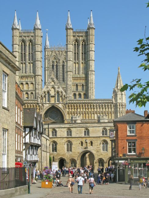 Chris Langley | Lincoln Cathedral and Exchequergate from Castle Square