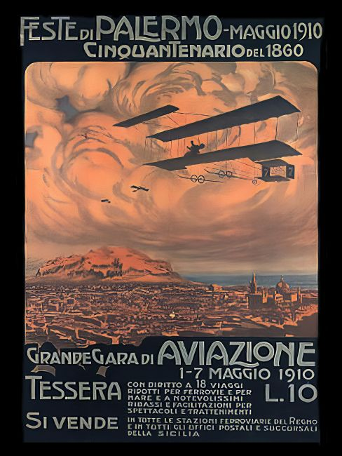 Chris Langley | Palermo, Sicily, Aviation Festival 1910