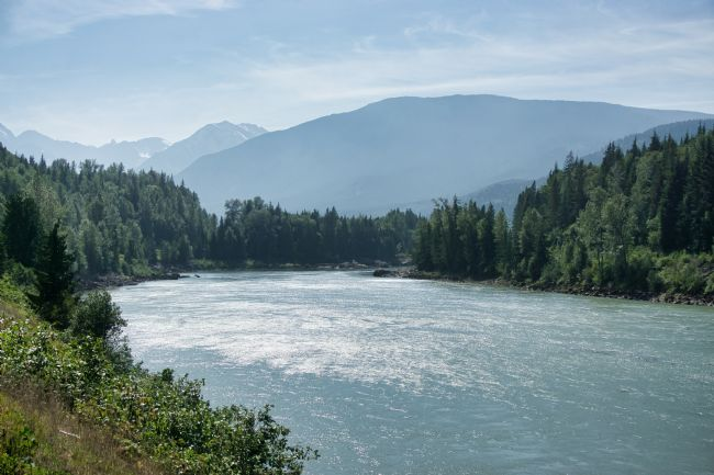Chris Langley | The Skeena River in northwestern British Columbia, Canada