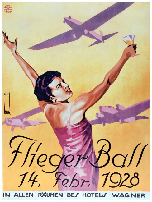 Chris Langley | The Flyer's Ball - Hotel Wagner 1928