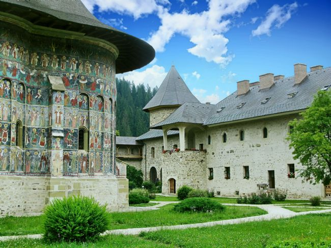 Chris Langley | Basilica and residence, Sucevita Monastery, Romania