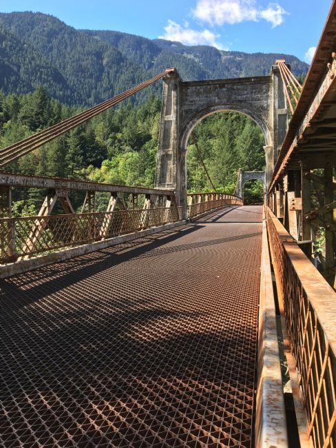 Chris Langley | Old Abandoned Alexandra Bridge, Fraser Canyon, British Columbia, Canada