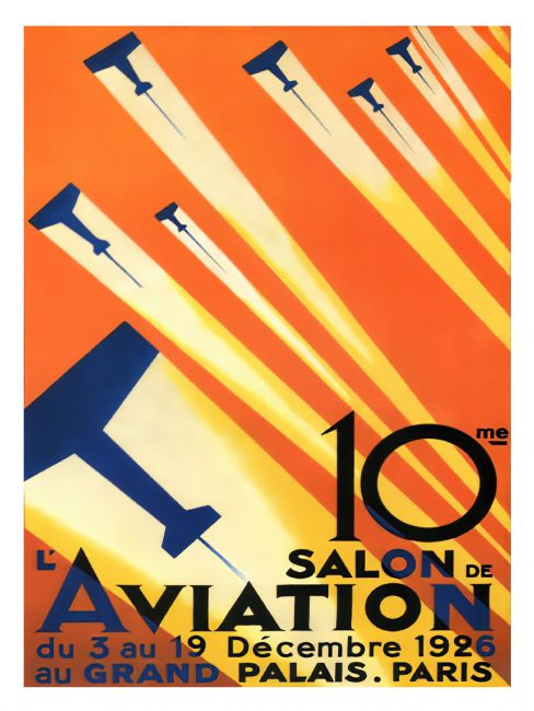 Chris Langley | 10th Aviation Exhibition, Paris, 1926