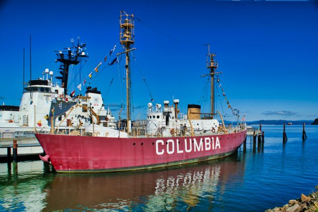 Chris Langley | The Columbia River Lightship - Astoria Oregon
