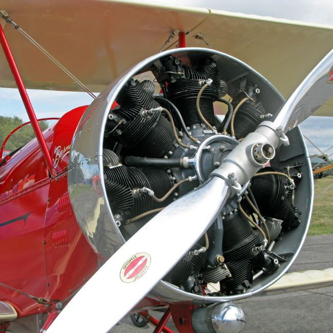 Chris Langley | A Beautiful Radial Engine