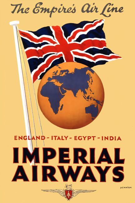 Chris Langley | Imperial Airways - England to India
