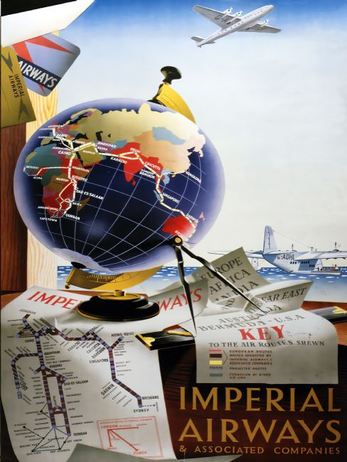 Chris Langley | Imperial Airways Around the World