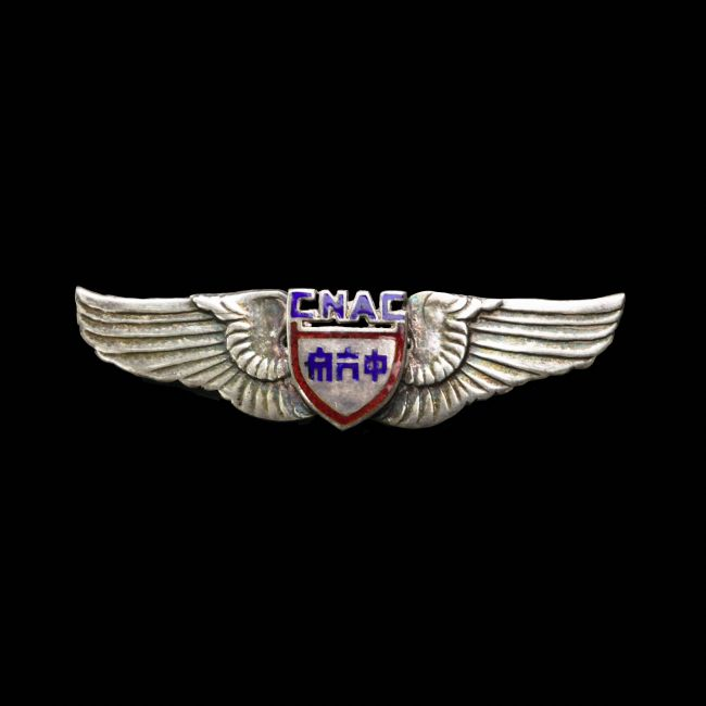 Chris Langley | China National Airways Corporation Pilot Badge WW2