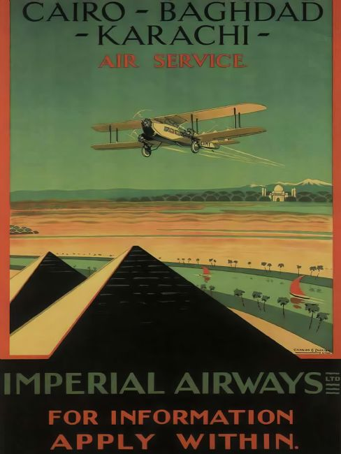 Chris Langley | Imperial Airways - Middle East to Karachi