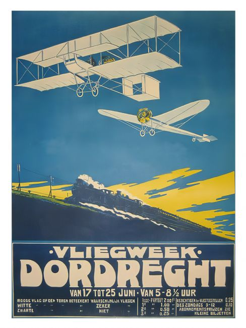 Chris Langley | Flying Week, Dordrecht, Holland c1910