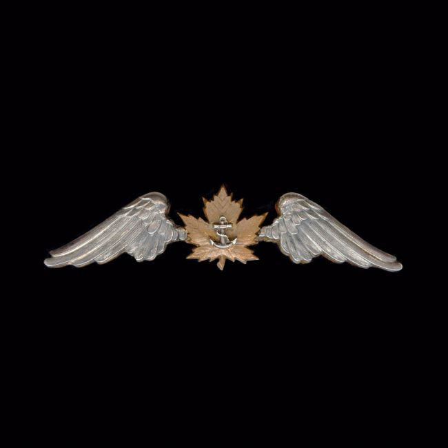 Chris Langley | Royal Canadian Naval Air Service Pilot Badge - 1918