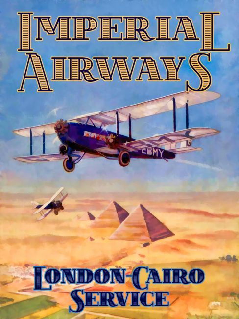 Chris Langley | Imperial Airways, London to Cairo